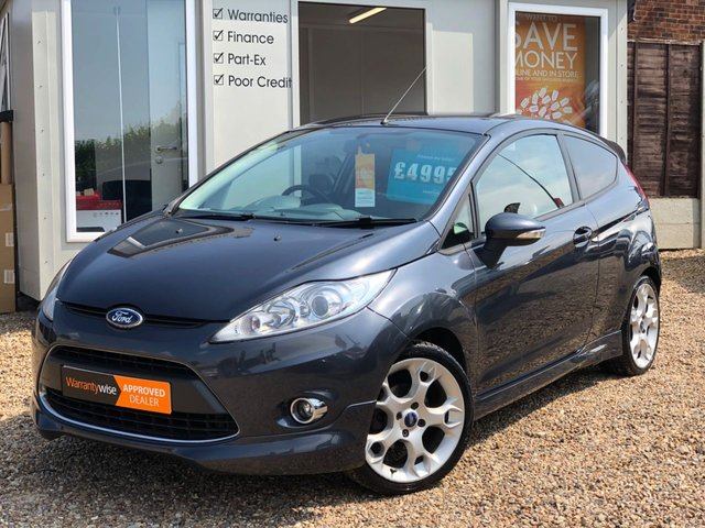 2008 58 FORD FIESTA 1.6 ZETEC S 3dr 118 BHP ++ FULL LEATHER