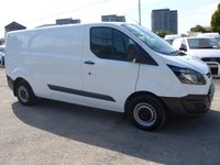 USED 2015 15 FORD TRANSIT CUSTOM 2.2 310 ECO-TECH, 99 BHP, FORD SERVICE HISTORY, 1 COMPANY OWNER