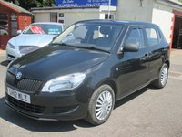 USED 2012 12 SKODA FABIA 1.2 S 12V 5d 60 BHP THIS CAR HAS LOW MILEAGE FOR THE YEAR