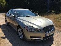 2011 JAGUAR XF 3.0 V6 LUXURY 4d AUTO 240 BHP £9790.00