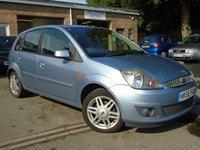 2006 FORD FIESTA 1.4 GHIA 16V 5d 80 BHP £1995.00