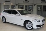 USED 2016 16 BMW 5 SERIES 2.0 520D SE TOURING 5d AUTO 188 BHP FULL LEATHER INTERIOR + BMW SERVICE HISTORY + 1 OWNER FROM NEW + SAT NAV + BLUETOOTH + £30 ROAD TAX + DAB RADIO + PARKING SENSORS + 18 INCH ALLOYS