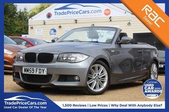2010 BMW 1 SERIES 2.0 120D M SPORT 2d AUTO 175 BHP £8750.00
