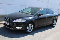 2014 FORD MONDEO 2.0 TITANIUM X BUSINESS EDITION TDCI 5d 138 BHP £6790.00