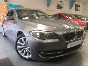 2012 BMW 5 SERIES 2.0 528I SE 4d AUTO 242 BHP £16490.00