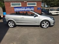 USED 2008 08 VAUXHALL ASTRA 1.6 TWIN TOP SPORT 3d 114 BHP COUPE CABRIOLET CONVERTIBLE 71K MILES