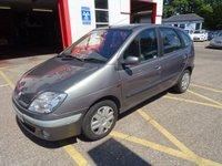2002 RENAULT SCENIC 1.4 AUTHENTIQUE 16V 5d 94 BHP £495.00