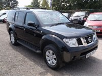 USED 2006 06 NISSAN PATHFINDER 2.5 SVE DCI 5d 172 BHP 7 SEATER, DIESEL,  GREAT SPEC,  SERVICE HISTORY, DRIVES SUPERBLY !!!