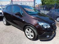 USED 2014 14 VAUXHALL MOKKA 1.7 TECH LINE CDTI S/S 5d 128 BHP COLOUR SCREEN SAT NAV, BLUETOOTH, ALLOY WHEELS,REAR CAMERA, F.S.H