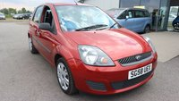 2008 FORD FIESTA 1.6 STYLE CLIMATE 16V 5d AUTO 100 BHP £3395.00