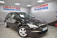USED 2014 64 PEUGEOT 308 1.6 HDI ACTIVE 5d 92 BHP Full Service History, Cruise control, Sat Nav, Bluetooth, Cheap Tax