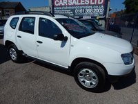 USED 2013 13 DACIA DUSTER 1.5 AMBIANCE DCI 5d 107 BHP BODY COLOURED BUMPERS, CD PLAYER, F.S.H