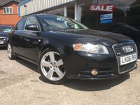 USED 2006 06 AUDI A4 2.0 S LINE 4d 129 BHP