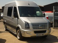 2014 VOLKSWAGEN CRAFTER 2.0TDi  CR35 BLUEMOTION TECHNOLOGY L2 H3 110 BHP £14995.00