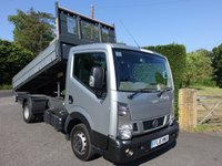 2016 NISSAN NT400 CABSTAR 35.14 TIPPER MWB TWIN REAR WHEEL 2.5 DCI 136 BHP £17995.00