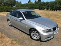 USED 2005 05 BMW 3 SERIES 2.0 320D SE 4d 161 BHP Full Bmw And Specialist History Full Service History, MOT 07/19, Recently Serviced,  Full Black Leather Upholstery, X4 Recent Tyres Replaced, Very Very Clean And Tidy Example, Auto Lights On, Auto Wipers, Parking Sensors, Dimming Rear View Mirror, Climate Aircon, Cd/Stereo/USB, Cruise Control, Unmarked Alloys And Body, Very Very Straight -Clean And Tidy Example, X2 Keys, You Will Not Be Dissapointed!!!