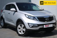 "USED 2011 60 KIA SPORTAGE 1.6 2 5d 133 BHP FSH+PAN ROOF+LEATHER+17"" ALLOY"