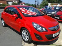 2014 VAUXHALL CORSA 1.2 EXCITE 3d 83 BHP £SOLD