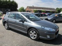 USED 2010 59 PEUGEOT 407 2.0 SW SPORT HDI 5DR ESTATE FULL SERVICE HISTORY ALLOYS CD AC AW