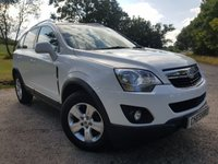 USED 2014 63 VAUXHALL ANTARA 2.2 EXCLUSIV CDTI S/S 5d LEATHER & A/C