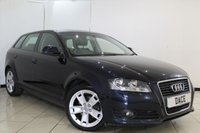 USED 2010 10 AUDI A3 2.0 SPORTBACK TDI SPORT 5DR 138 BHP SERVICE HISTORY + HEATED LEATHER SEATS + CRUISE CONTROL + MULTI FUNCTION WHEEL + CLIMATE CONTROL + 17 INCH ALLOY WHEELS
