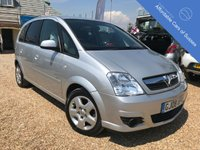 USED 2008 08 VAUXHALL MERIVA 1.6 CLUB 16V 5d AUTO 100 BHP Vauxhall Meriva MPV with the benefit of AUTOMATIC TRANSMISSION and below average mileage for year