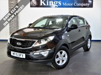 USED 2015 15 KIA SPORTAGE 1.6 ISG 1 5dr  Balance of 7 YEAR WARRANTY,  1 Owner Full Service History