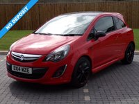 USED 2014 14 VAUXHALL CORSA 1.2 LIMITED EDITION 3d 83 BHP Fantastic Looking Car!!