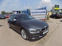 2012 BMW 3 SERIES 2.0 318D LUXURY 4d AUTO 141 BHP £10495.00