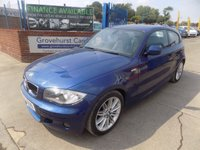 2010 BMW 1 SERIES 2.0 118I M SPORT 3d 141 BHP £6695.00