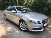 USED 2010 10 AUDI A4 2.0 TDI SE Business (NAV) 4d 143 BHP FACTORY FITTED NAVIGATION - BLUETOOTH - MUSIC BOX - CLIMATE CONTROL - JUST BEEN SERVICED - RAC'd & READY TO GO!