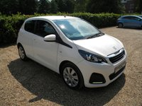 USED 2015 15 PEUGEOT 108 1.0 ACTIVE 5d 68 BHP Free to Tax! Very cheap to run