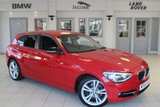 USED 2014 64 BMW 1 SERIES 1.6 116I SPORT 5d 135 BHP BLUETOOTH + SPORT SEATS + PARKING SENSORS + AUXILIARY PORT + 17 INCH ALLOY WHEELS