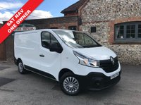 USED 2015 65 RENAULT TRAFIC 1.6 SL29 BUSINESS DCI S/R P/V 1d 115 BHP SAT NAV, Low Mileage, One Owner, Finance Arranged, 115 BHP.
