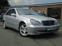 2002 MERCEDES-BENZ C CLASS 2.7 C270 CDI AVANTGARDE SE 4d AUTO 170 BHP £1495.00
