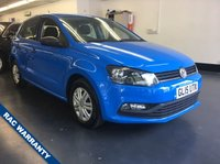 USED 2015 15 VOLKSWAGEN POLO 1.0 S AC 5d 60 BHP 1 LADY OWNER, FULL SERVICE HISTORY, AIR CON