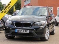 USED 2015 15 BMW X1 2.0 SDRIVE18D SPORT 5d 141 BHP 3 MONTHS EXTENDABLE AA WARRANTY INCLUDED