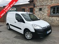 USED 2016 16 CITROEN BERLINGO 1.6 625 ENTERPRISE L1 HDI 1d 74 BHP 3 Seat, Air Conditioning, Only 33,000 Miles, Finance Arranged.