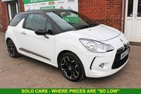USED 2014 14 CITROEN DS3 1.6 E-HDI DSTYLE PLUS 3d 90 BHP +FREE Tax Band +FSH.