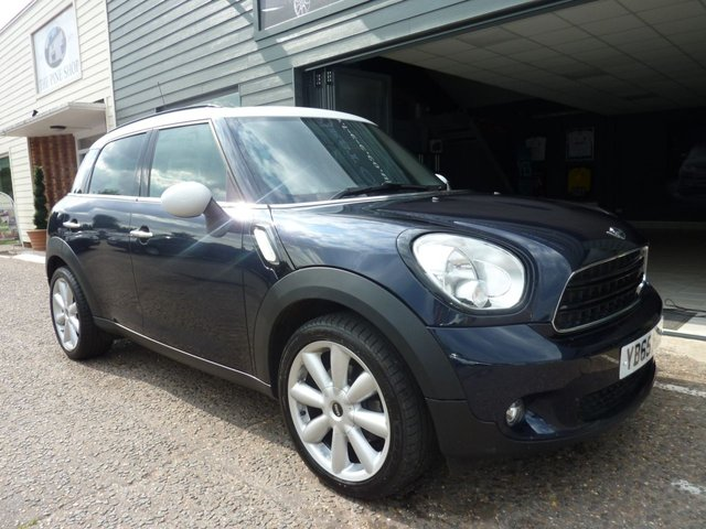 2015 65 MINI COUNTRYMAN 2.0 COOPER D BUSINESS 5d AUTO 110 BHP
