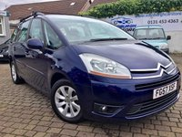 USED 2007 57 CITROEN C4 GRAND PICASSO 2.0 VTR PLUS HDI EGS 5d 135 BHP PRICE INCLUDES A 6 MONTH RAC WARRANTY, 1 YEARS MOT WITH 12 MONTHS FREE BREAKDOWN COVER