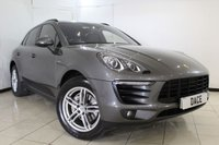 USED 2014 64 PORSCHE MACAN 3.0 D S PDK 5DR AUTOMATIC 258 BHP SERVICE HISTORY + HEATED LEATHER SEATS + PARKING SENSOR + BOSE SOUND SYSTEM + BLUETOOTH + CRUISE CONTROL + CLIMATE CONTROL + 19 INCH ALLOY WHEELS
