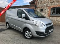 USED 2016 16 FORD TRANSIT CUSTOM 2.0 270 LIMITED LR P/V 1d 129 BHP ONLY 520 MILES, As New Example, Air Conditioning, Finance Arranged.