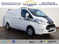 USED 2015 15 FORD TRANSIT CUSTOM 2.2 330 TREND LR P/V 1d 124 BHP One Owner Full Service History 0% Deposit Finance Available
