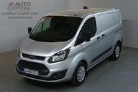 USED 2015 65 FORD TRANSIT CUSTOM 2.2 290 ECONETIC L1 H1 AIR CON FRONT-REAR PARKING SENSORS ECO START STOP  AIR CONDITION, FRONT-REAR PARKING SENSORS