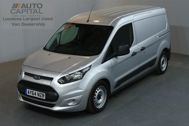 2014 64 FORD TRANSIT CONNECT 1.6 210 ECONETIC L2 H1 LWB LOW ROOF AIR CON REAR PARKING SENSORS ECO START STOP ONE OWNER FROM NEW, TREND SPECIFICATION