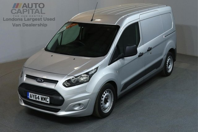2014 64 FORD TRANSIT CONNECT 1.6 210 ECONETIC L2 H1 LWB LOW ROOF AIR CON REAR PARKING SENSORS ECO START STOP ONE OWNER HIGH SPEC MUST SEE
