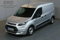 USED 2014 64 FORD TRANSIT CONNECT 1.6 210 ECONETIC L2 H1 LWB LOW ROOF AIR CON REAR PARKING SENSORS ECO START STOP REAR PARKING SENSORS, HIGH SECURITY LOCKS
