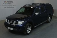 USED 2009 59 NISSAN NAVARA 2.5 DCI TEKNA 4X4 169 BHP AIR CON LEATHER SEATS ONE OWNER, £8,250