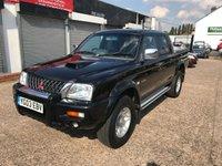 2003 MITSUBISHI L200 2.5 TD 4WD LWB WARRIOR DCB 1d 114 BHP £3499.00